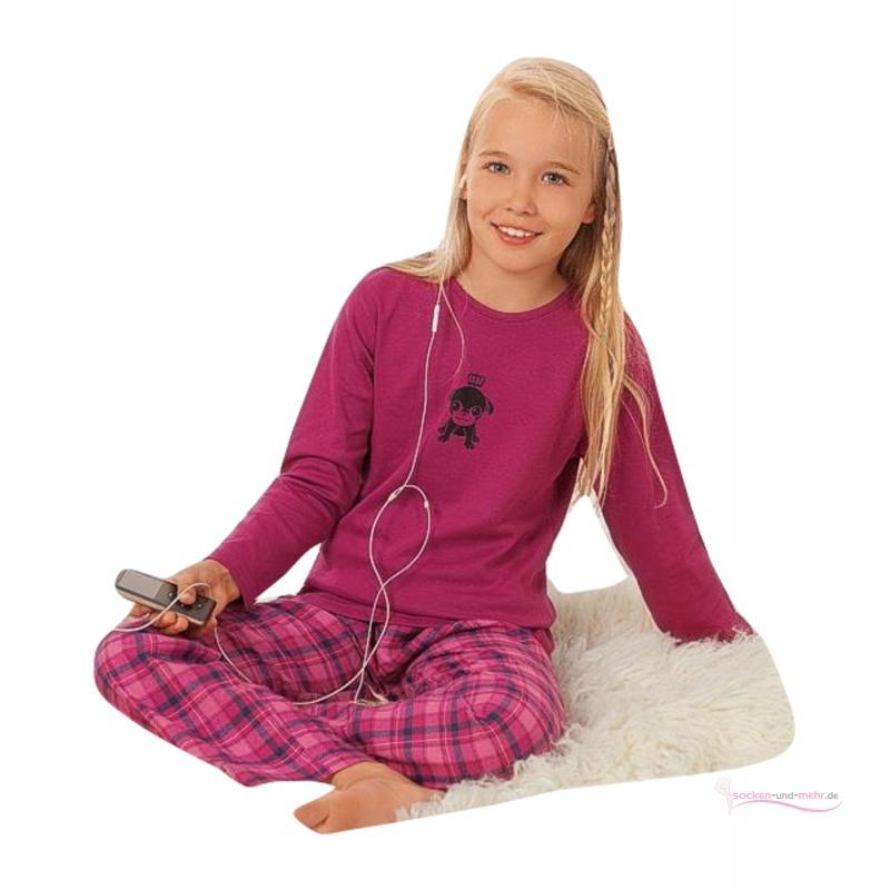 Kinder mädchen nachtwäsche mädchen pyjama mit flanellhose