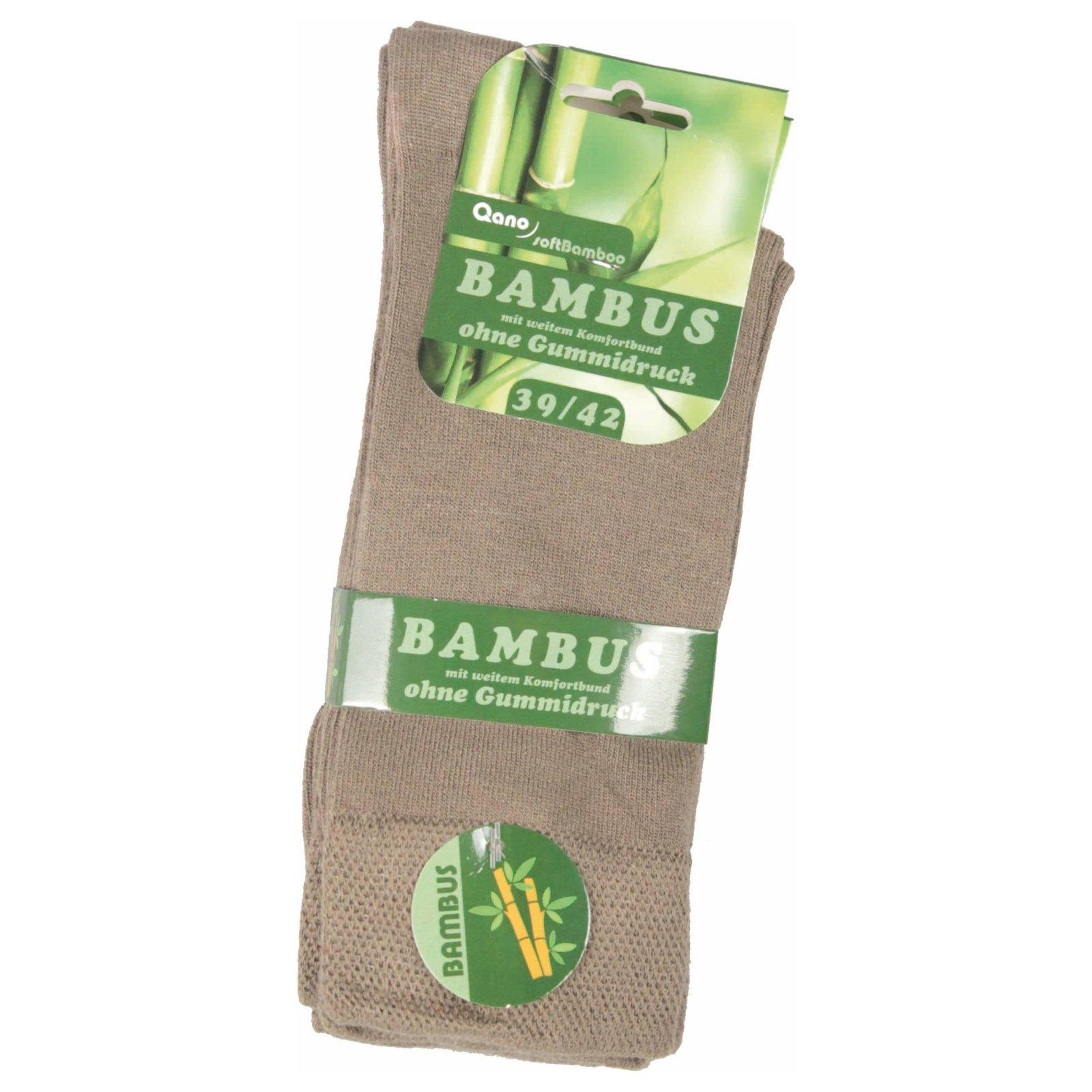 mit weitem Komfortbund 3er Pack Bambus-Sneakersocken ohne Gummidruck