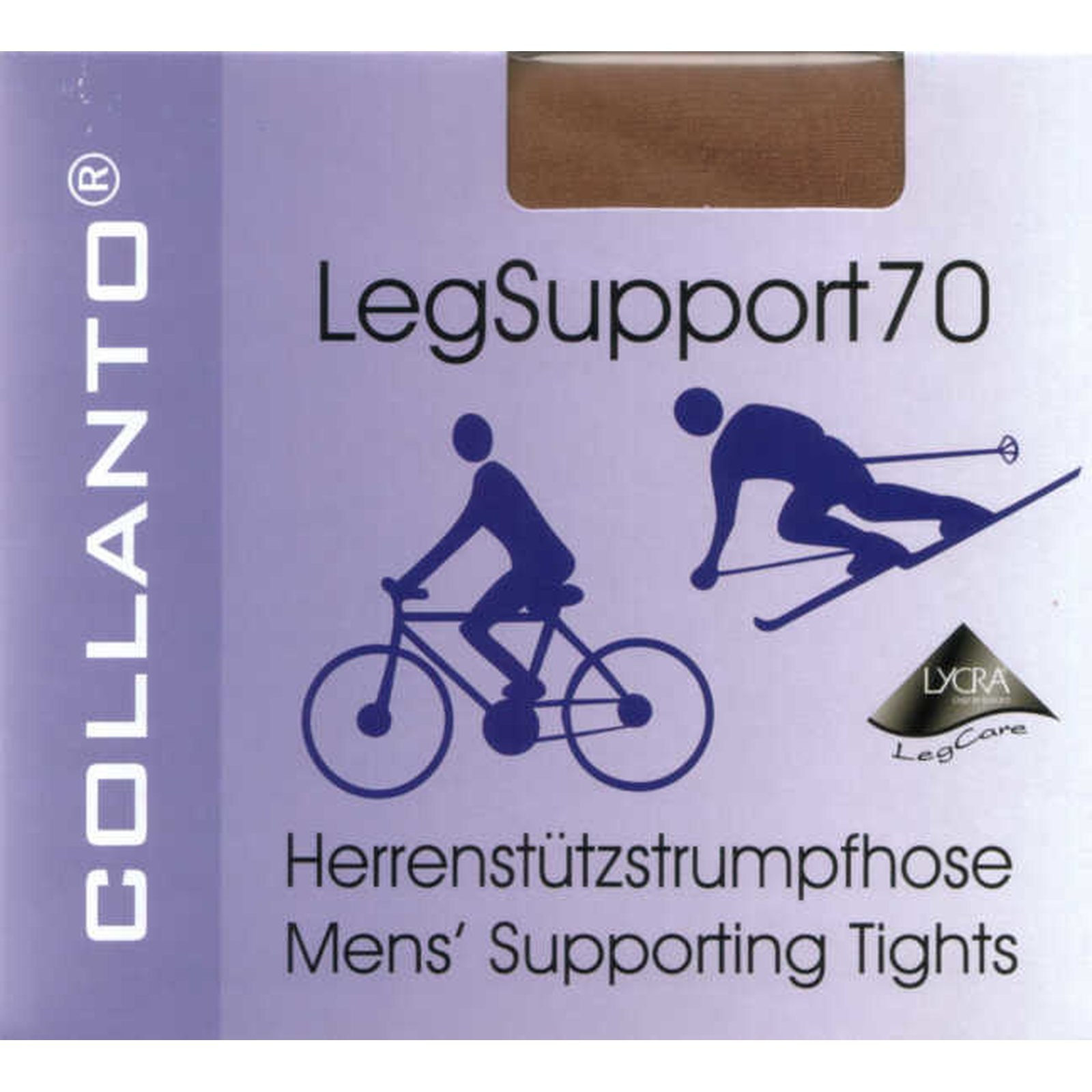 Herrenstrumpfhose - Leg Support 70 Collanto