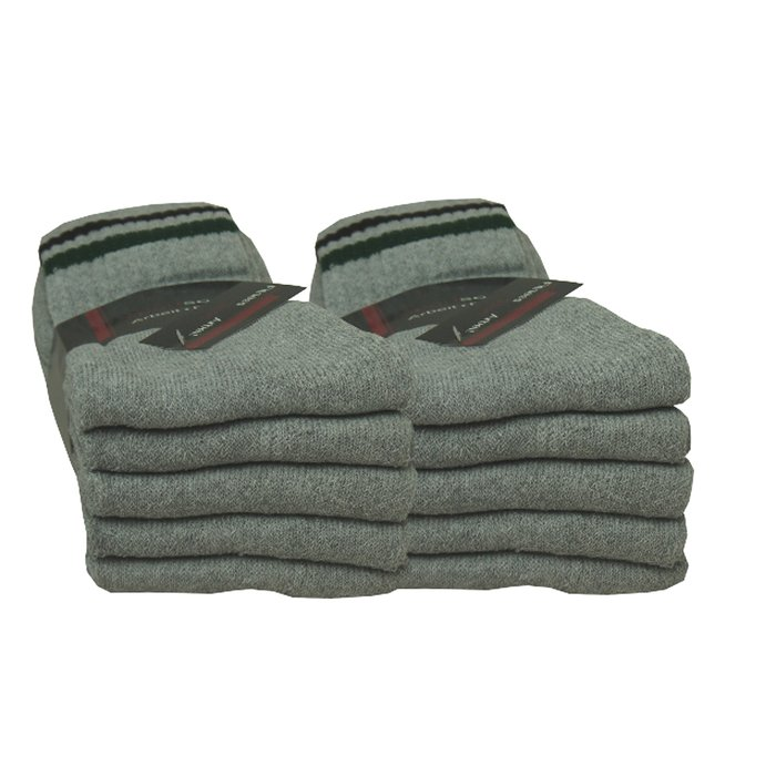 Tennissocken in grau | 10Paar