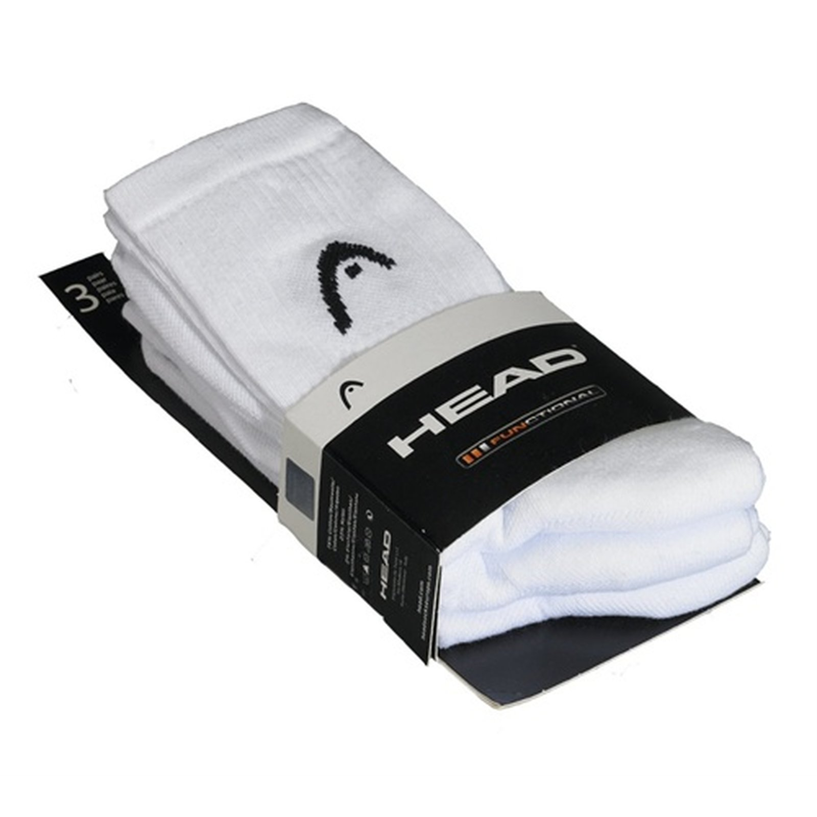 Head - Funktions-Sportsocken mit Ring Bandage weiss 35-38