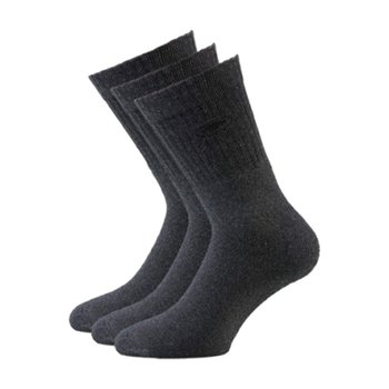 Tom Tailor Sportsocken im 3er Pack anthrazit  39-42