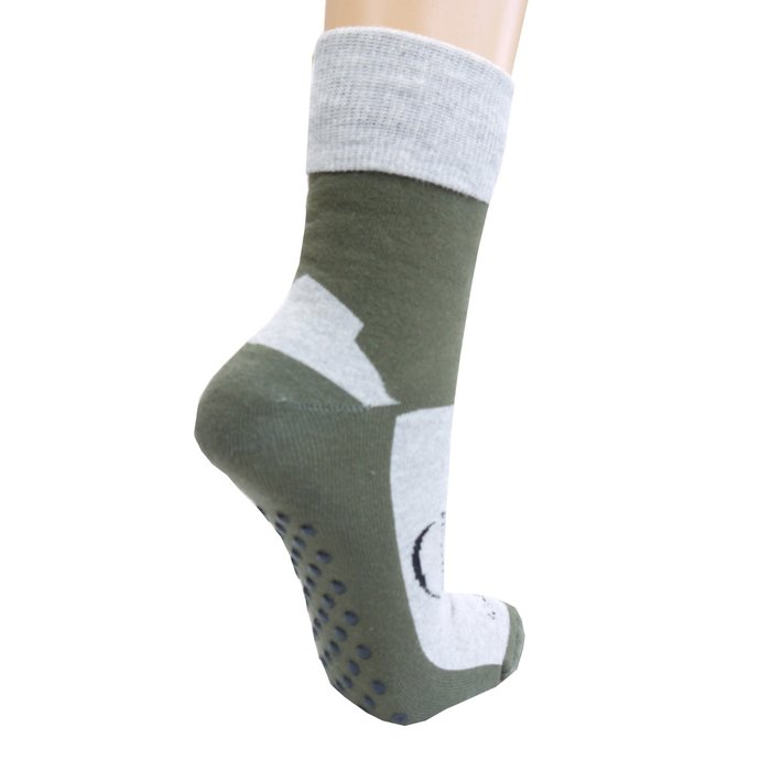 Stoppersocken oliv 35-38