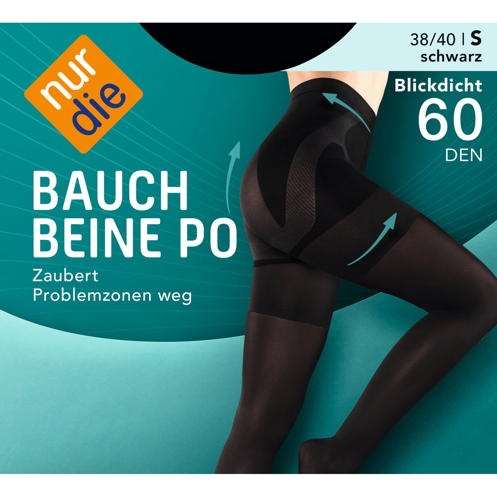bauch beine po 60den feinstrumpfhose von nur die. Black Bedroom Furniture Sets. Home Design Ideas