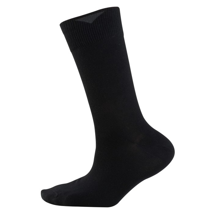 Cotton Stretch Socke schwarz 47-48 | 2Paar