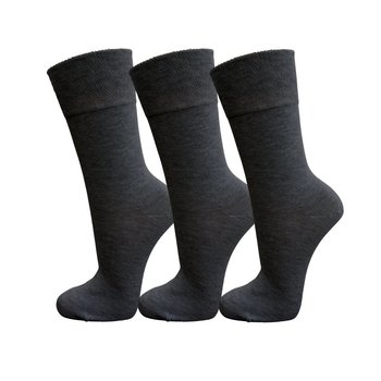 3 Paar Wellness-Socken anthrazitmelange 47-49