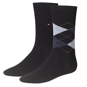 Tommy Hilfiger Socken - Check im 2er Pack dark navy 39-42