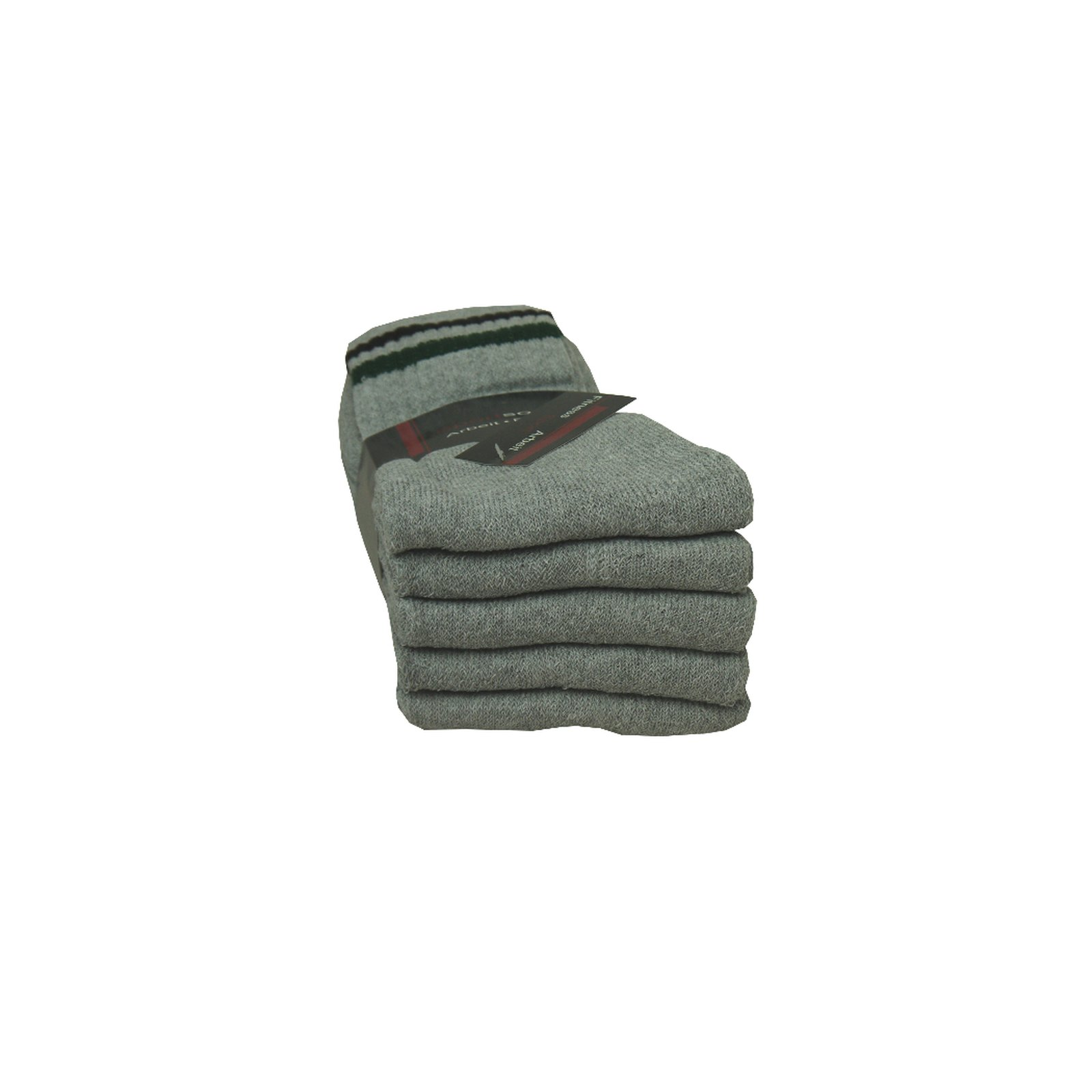 5 Paar Tennissocken in grau 39-42