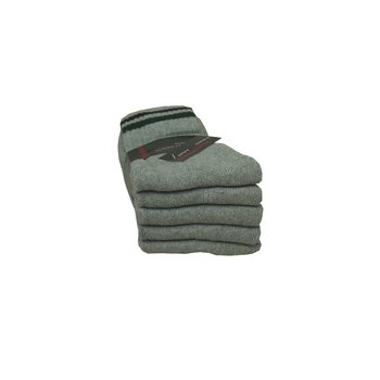 5 Paar Tennissocken in grau 43-46