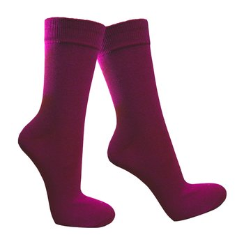 Bunte Herrensocken in purpurwein 43-46