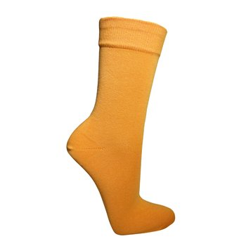 Bunte Herrensocken in orange 43-46