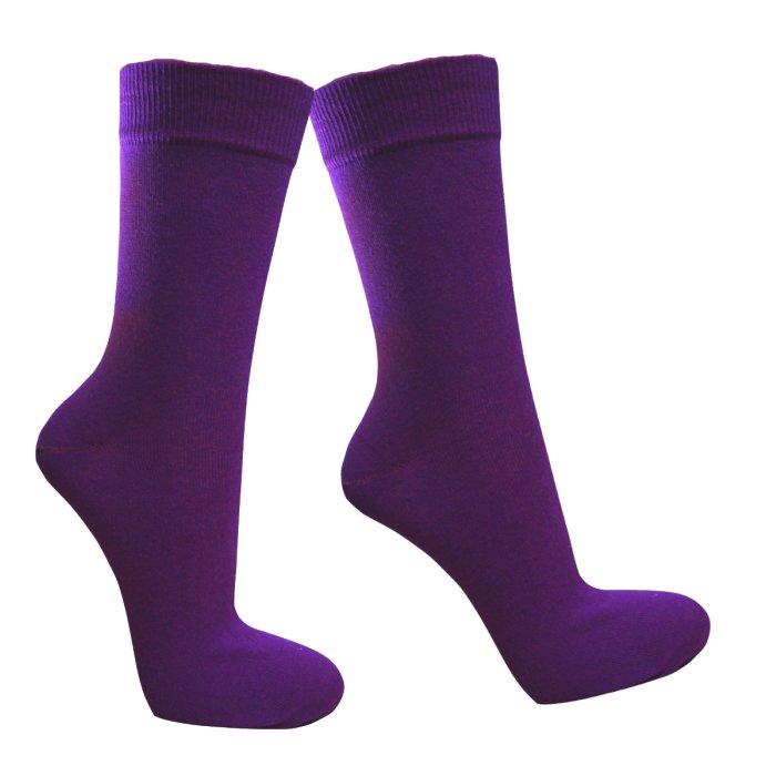 Turnschuhe 2018 noch nicht vulgär neue hohe Qualität Lila Socken | Hergestellt in Deutschland | socken-und-mehr