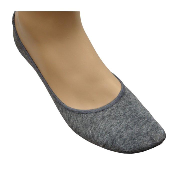 half off 6e5df 9a4ee Ballerina Socken grau | 3Paar