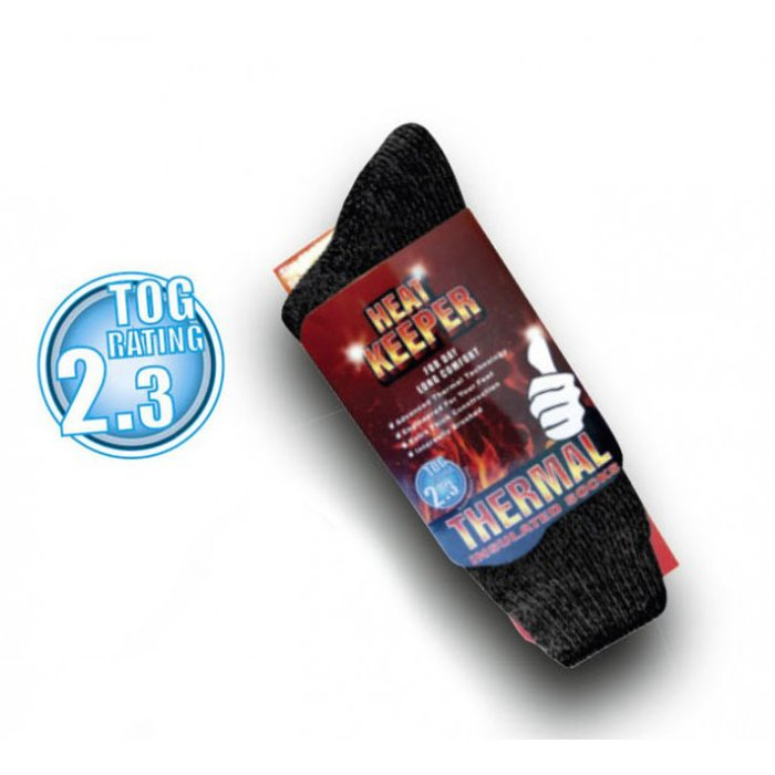 Thermosocken Heat Keeper - Warme Socken schwarz 36-41