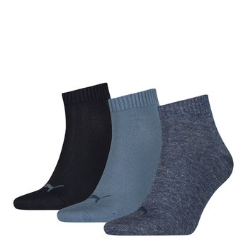 3 Paar Puma Quarter Socken denim blue 35-38
