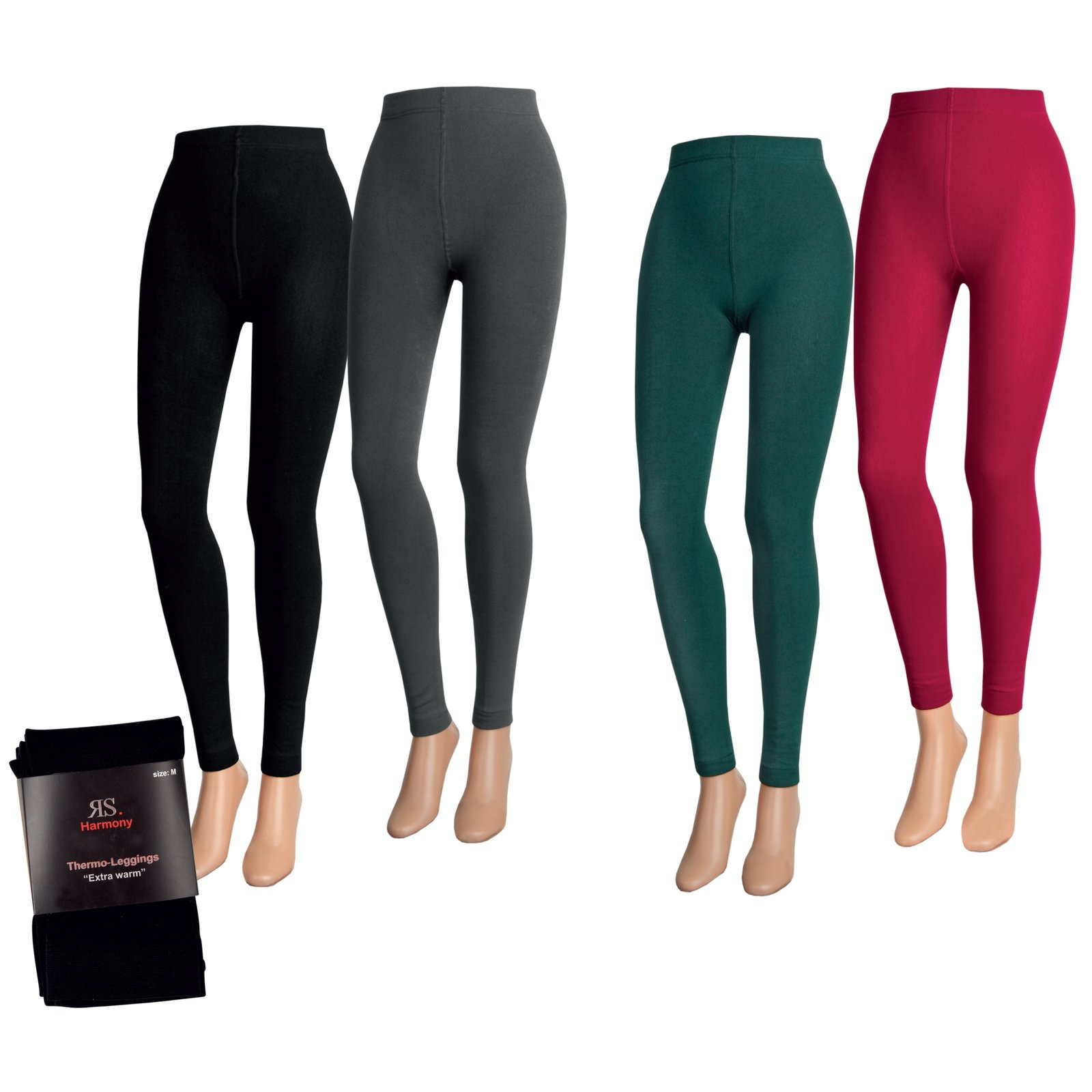 Damen Thermo Legging Extra Warm auch in XXXL